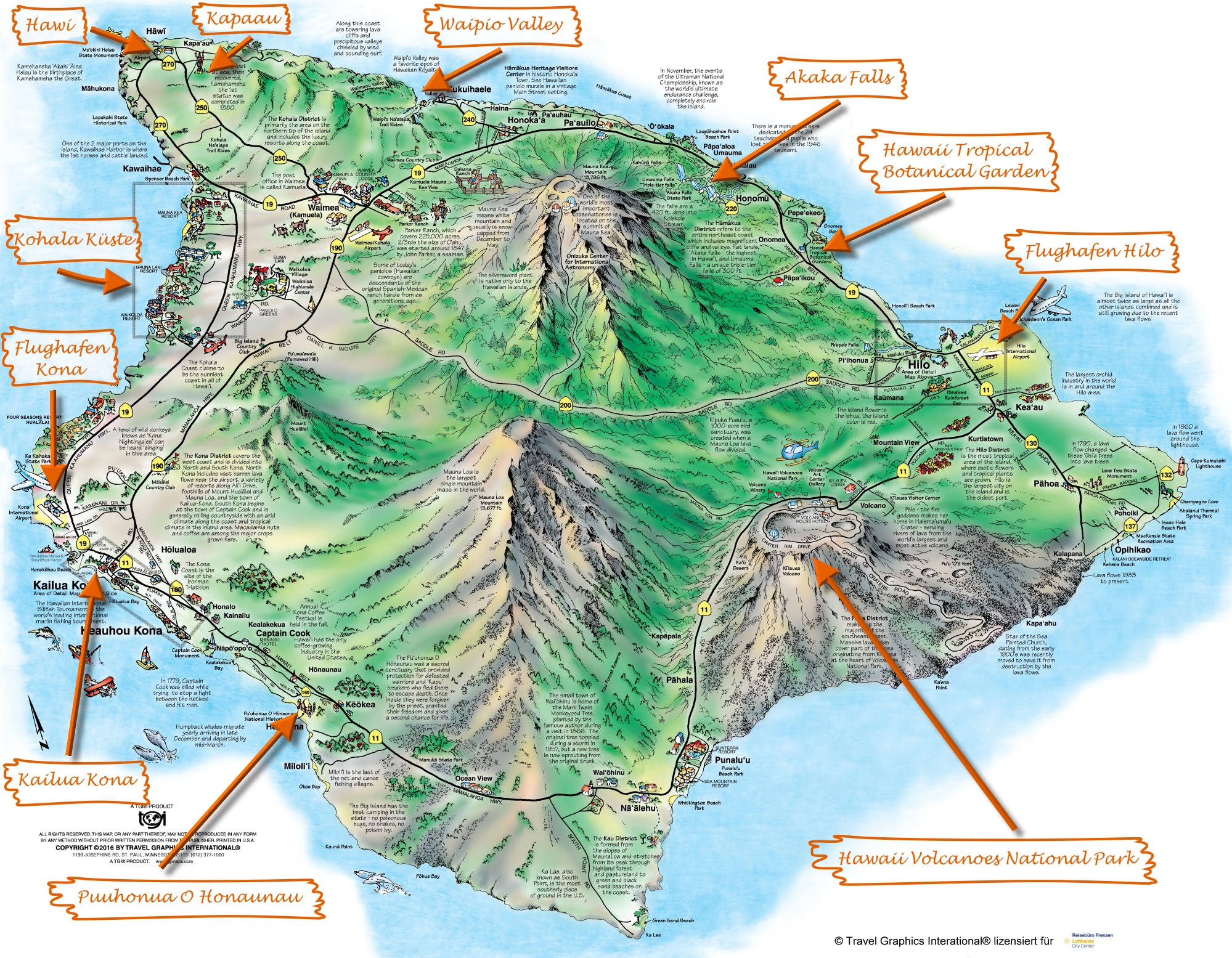 Hawaii Big Island Lava Zone Map