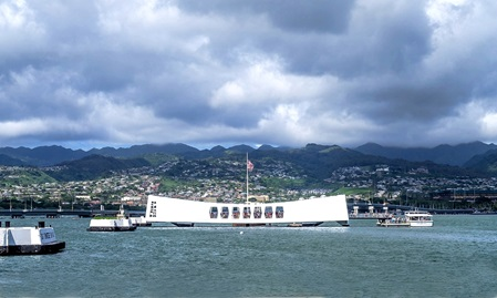 hawaii urlaub, rundreise oahu, pearl harbor, ausflug honolulu